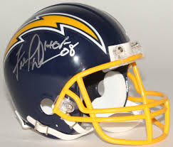 Fred Dean Signed Chargers Throwback Mini Helmet Inscribed