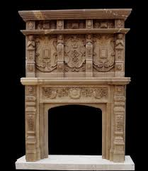 china marble tall fireplace frp464