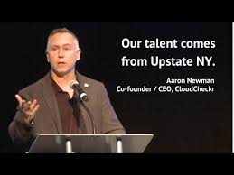 AARON NEWMAN: Our talent is from Upstate NY - YouTube