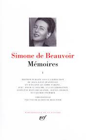 Simone de Beauvoir, Mémoires I & II (Pléiade)