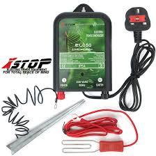 El050 Premium Electric Fence Energiser Kit 10km 230v 0 5j Ce Rohs 1 Yr Warranty 5060560828501 Ebay