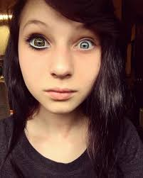 anime eye makeup without contacts
