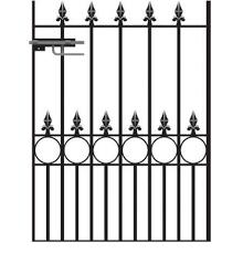 talisman wrought iron garden gate uk