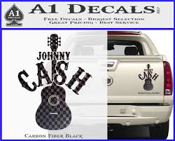 Johnny Cash Decal Sticker D1 A1 Decals