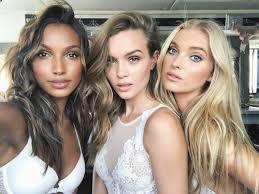 models use victoria secret makeup