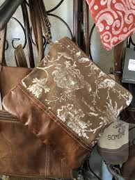 Myra Rose Print Small Bag in Brown Canvas and Leather Wristlet – Marion,  Iowa – Shop Where I Live