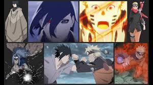 Naruto & Sasuke : power scales/levels { all arcs } - YouTube