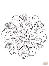 Norwegian Rosemaling Coloring Page Jpg 1206 1600 Kleurplaten