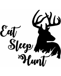 Here S A Great Price On Hunting Deer Wall Decals Antlers Quotes Vinyl Sticker Eat Sleep Hunt Decal Bedroom Decor Man Cave Wall Art Antler Hunting Decals Living Home Nl273