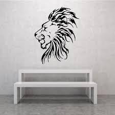Prideful Lion Head Decal