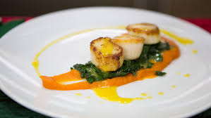 Seared Scallops with Carrot-Ginger ...