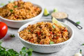 vegan spanish rice and beans easy