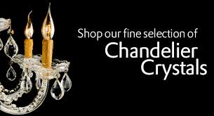 chandelier crystal parts at