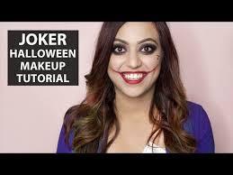 joker halloween makeup tutorial