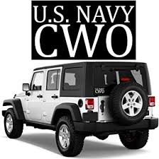 Amazon Com Bricals Vinyl Decals Us Navy Cwo Chief Warrant Officer Military Car Truck Window Decal Sticker White Vinyl 5 3x2 8 5 Yr Outdoors For Windows Bumper Water Bottle Laptop Tablet Etc