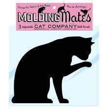 Molding Mates Cat Company 3 Molding Mates Home Decor Peel And Stick Vinyl Wall Decal Stickers James K Goyettetz