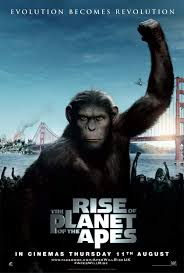 Rise of the Planet of the Apes - waiting for number 2 ....loved it! |  Planet of the apes, Good movies, 2011 movies