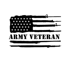 Copy Of Army Veteran Us Gun Flag Vinyl Decal Car Truck Window Sticker Kandy Vinyl Shop