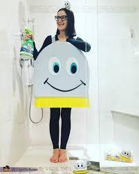 scrubbing bubbles costume last minute