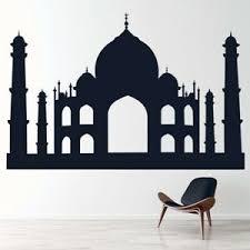 India Landmark Taj Mahal Wall Decal Sticker Ws 15440 Ebay