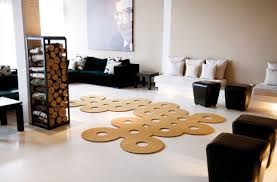 cutting rugs creatively shaped area