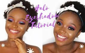 easy halo eyeshadow makeup tutorial