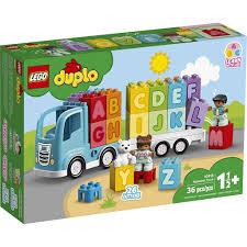 Lego Duplo 10915 xe tải chữ cái ( Đồ chơi xếp hình - Do choi xep hinh )