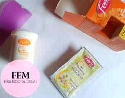 fem anti darkening hair removal cream