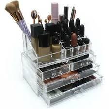 acrylic makeup drawer holder jewellery