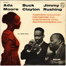 "ADA MOORE / JIMMY RUSHING ""CAT MEET CHICK"" BLUES VOCAL JAZZ ..."