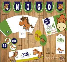 Kit Imprimible Decoracion Caballos De Campo 170 00 En Mercado