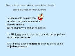 Ppt El Acento Diacritico Powerpoint Presentation Free Download