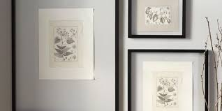 glass picture frames in decors