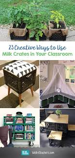 23 Creative Ways To Use Milk Crates In The Classroom We Are Teachers