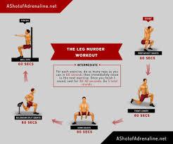 the leg workout