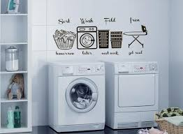 Laundry Room Wall Decal Laundry Wall Decals Laundry Room Etsy