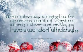 heartwarming christmas messages for you