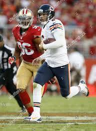 Corey Lemonier Jay Cutler Chicago Bears quarterback Editorial ...
