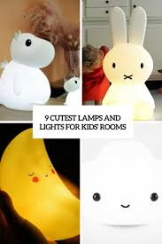 9 Cutest Lamps And Lights For Kids Rooms Digsdigs