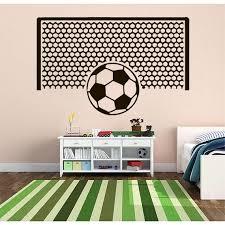 Football Field Wall Decal Football Wall Sticker Soccer Wall Etsy