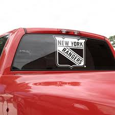 New York Rangers 18x18 White Logo Decal Wincraft Ranger Car Glass Decals