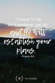 when we commit our ways to the lord he will guide us learn how