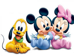 mickey mouse pluto and minnie mouse as