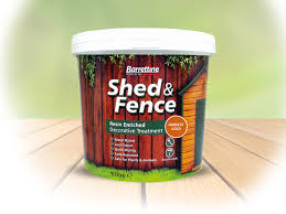 Shed Fence Treatment Barrettine Products