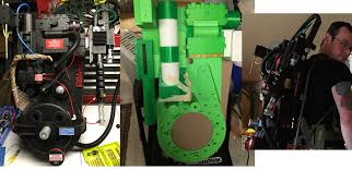 3d printed ghostbusters proton pack