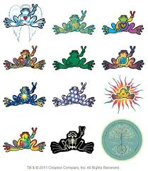 Pin On Peace Frogs
