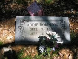 Addie Robinson (1882-1963) - Find A Grave Memorial