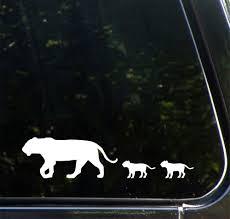 Car Lion Mom Baby Car Vinyl Decal Sticker C Yydc 6 5 W X 2 H White Car Decals Vinyl Baby Stuffed Animals Baby Simba
