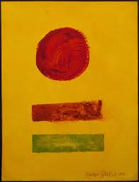 Adolph Gottlieb, Attributed: Abstract Composition