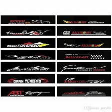 2020 Waterproof Auto Car Front Window Windshield Decal Sticker For Honda Civic Camry Ford Focus Car Styling From Jerry03 5 29 Dhgate Com